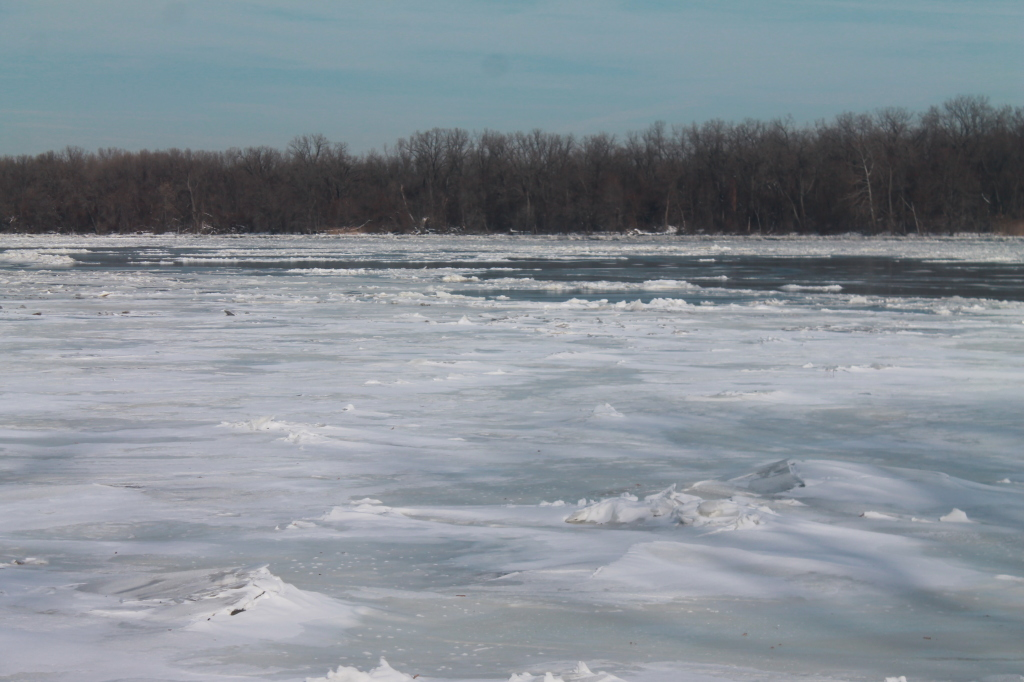 Photo: Ice on the River