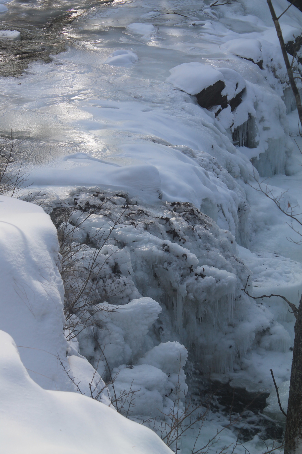 Photo: Iced Over Falls