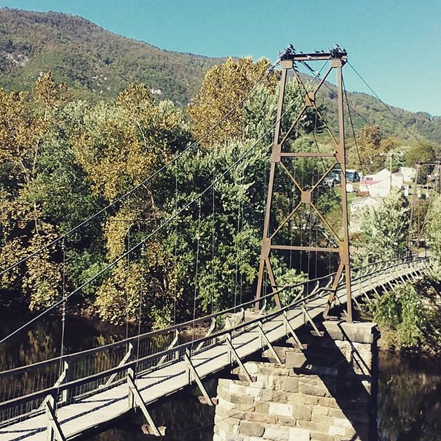Photo: Buchanan Swinging Bridge