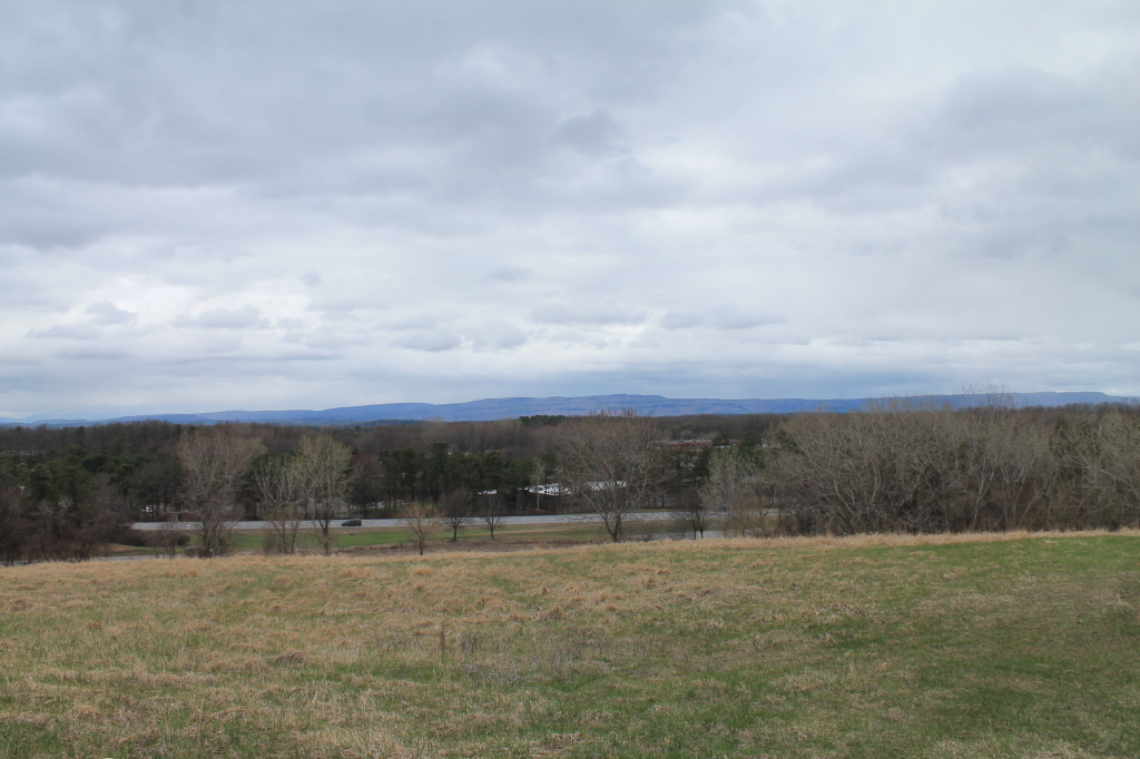 Photo: Towards the Heldebergs with Thruway Nearby