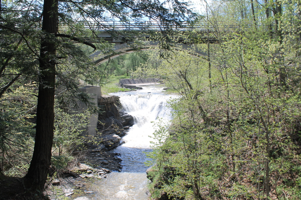 Photo: NY 30 Bridge Over the Falls