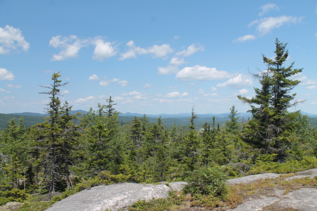 Photo: Walking Across the Top of Black Bear Mountain