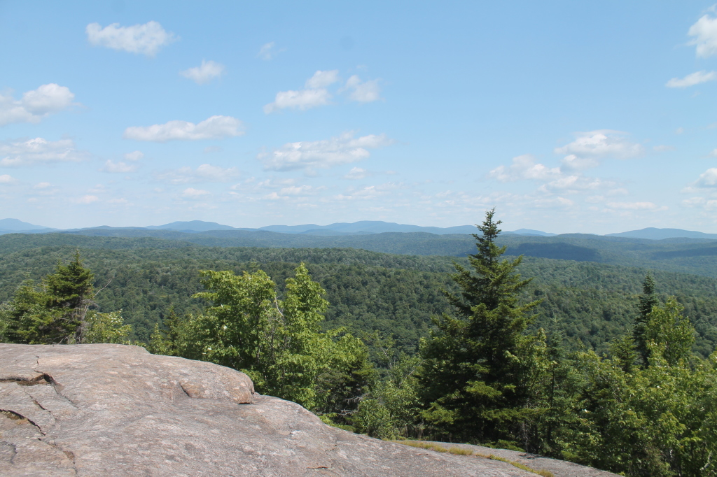 Photo: View Off of Ledge from Back Trail