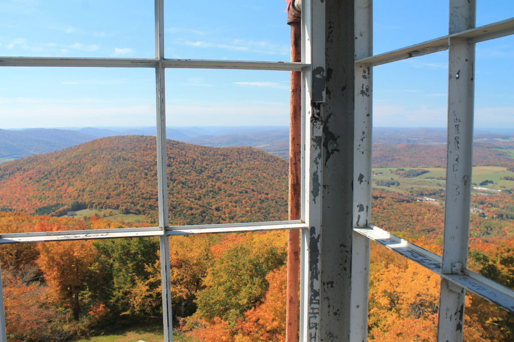 Photo: Churchill Mountain from the Tower Window