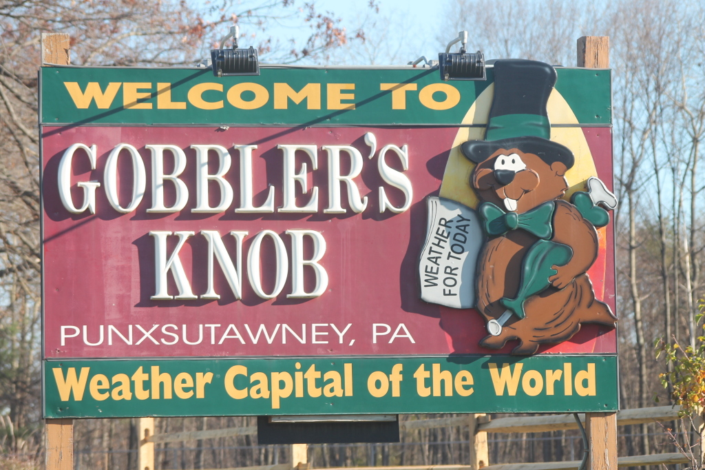Photo: Gobbler's Knob – Weather Capital of World