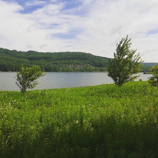 Photo: Brief stop at Cowanesque Lake