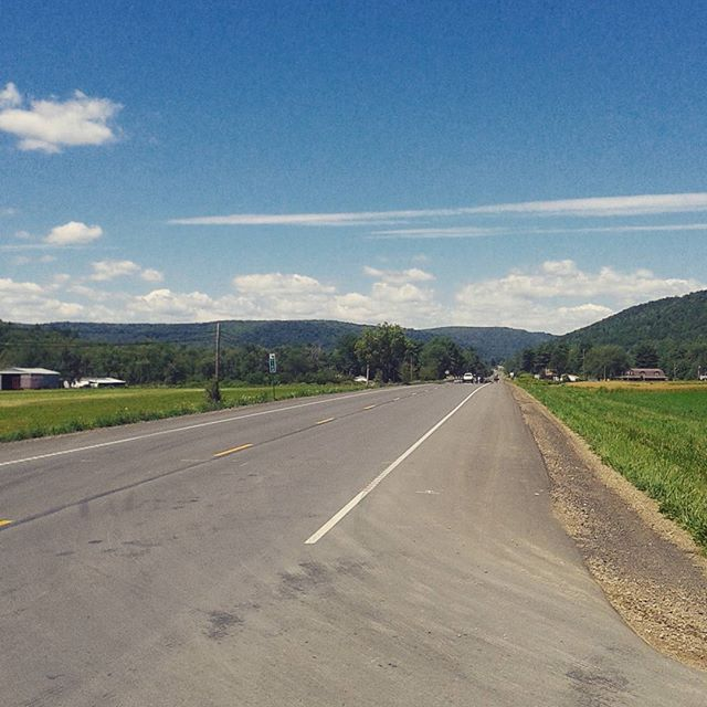 Photo: US Route 6 before Port Allegany