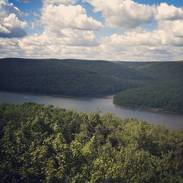 Photo: Allegheny Reservoir from Rimrock