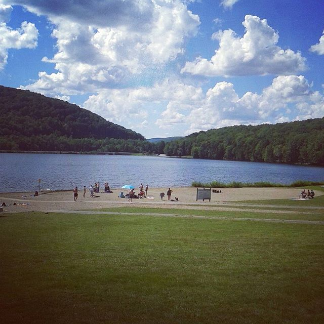 Photo: Quaker Lake Beach
