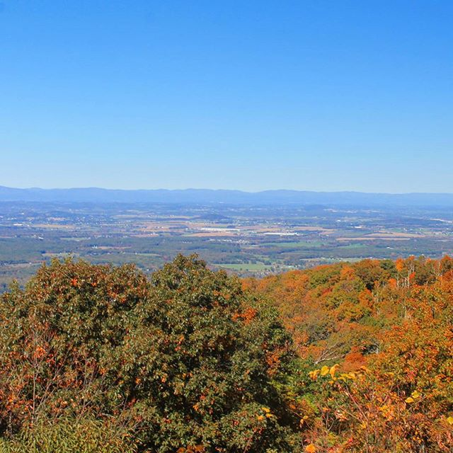 Photo: Staunton from the Blue Ridge Parkway
