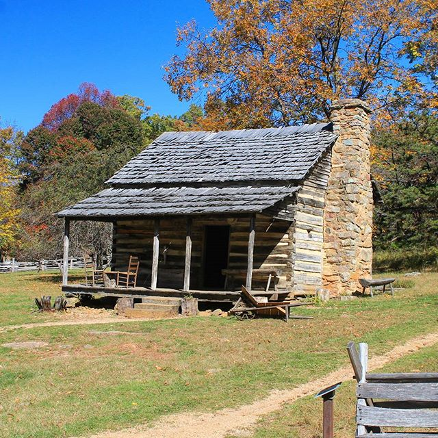 Photo: Old Homestead Historic Site, Along the Blue Ridge Parkway