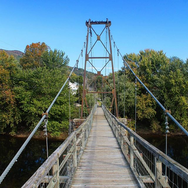 Photo: Swinging Suspension Bridge