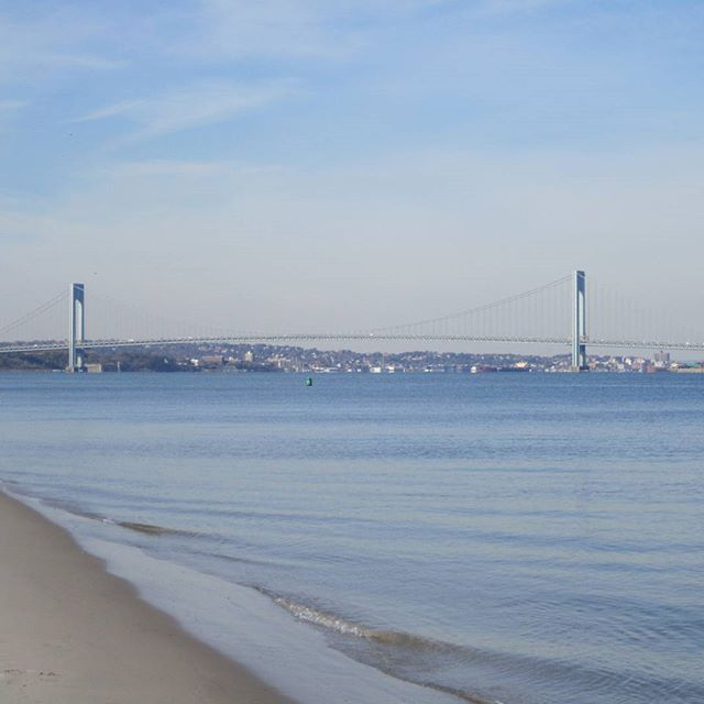 Photo: Verrazano Narrows from Coney Island Creek
