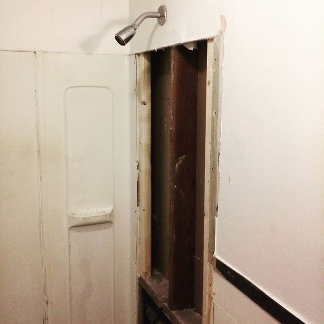 Photo: Dripping shower faucet turned out to be a bigger project than landlord expected
