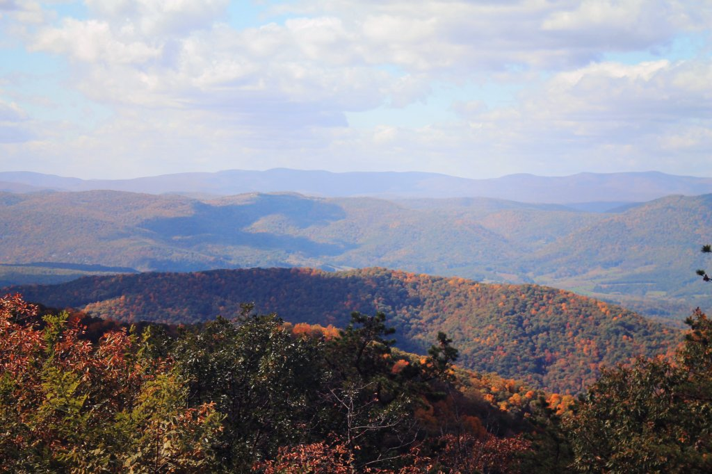 Photo: Looking Back Into West Virgina From Middle Mountain