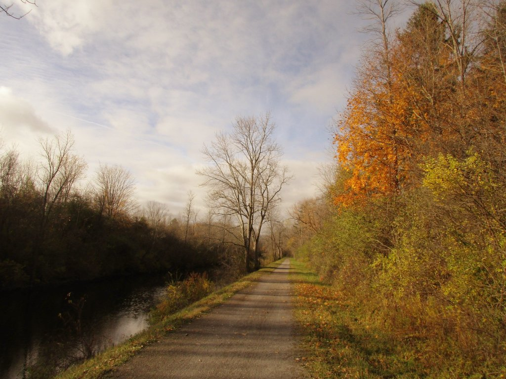 Photo: November On Old Erie Canal Trail