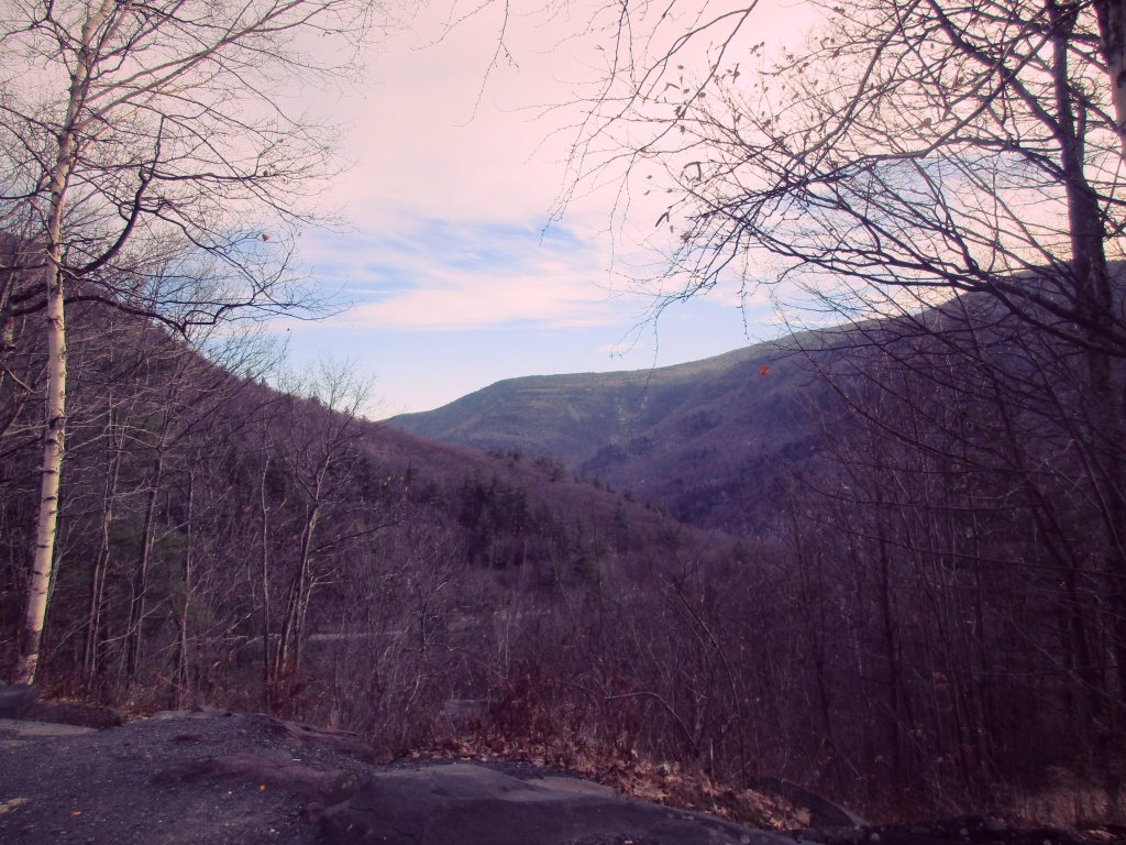 Photo: View Into Kaaterskill Clove From NY 23A Parking Lot