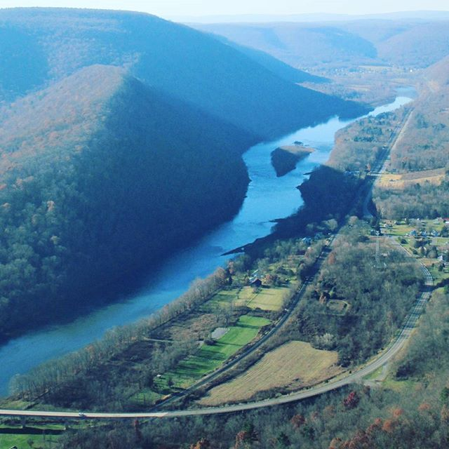 Photo: West towards Renovo