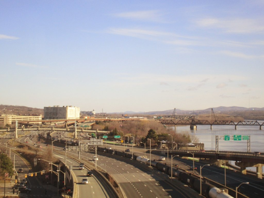 Photo: Sunny Morning On The Riverfront Route