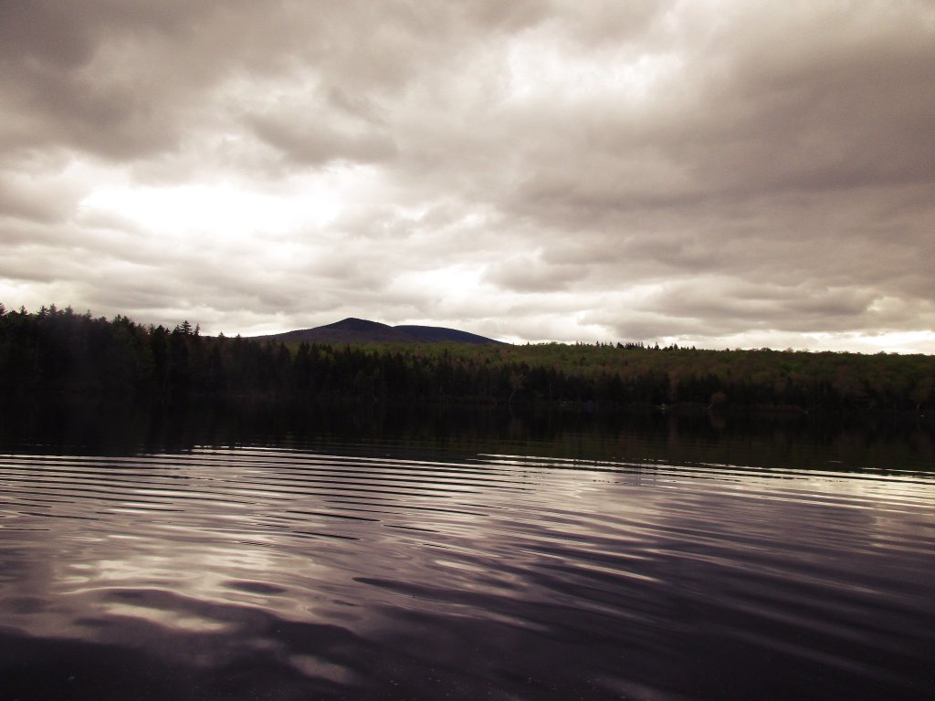 Photo: Stratton Mountain From Grout Pond