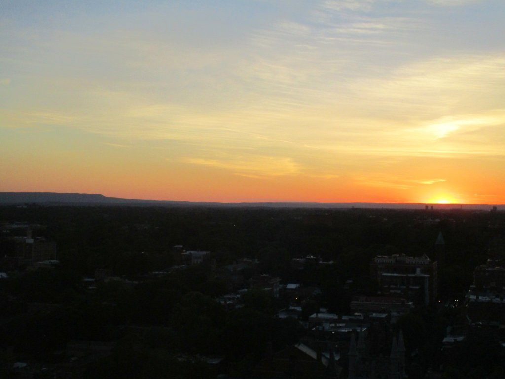 Photo: Sunset Over The Mohawk Valley