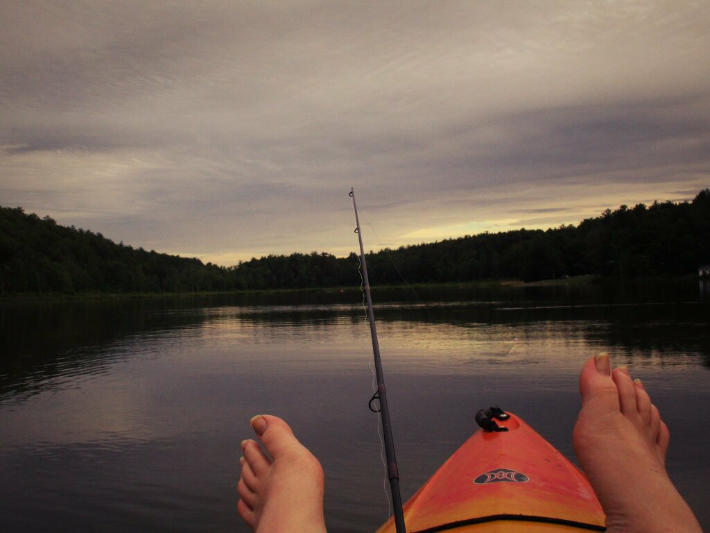 Photo: Fishing Lawson Lake