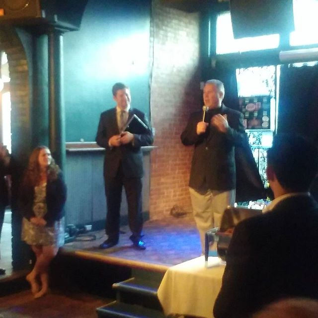 Photo: .@assemblymemberjohnmcdonald at Albany County Young Democrats Installation Ceremony