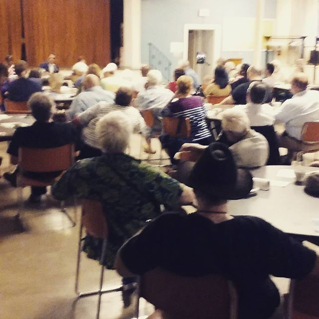 Photo: Packed how for Save the Pine Bush Movie Night