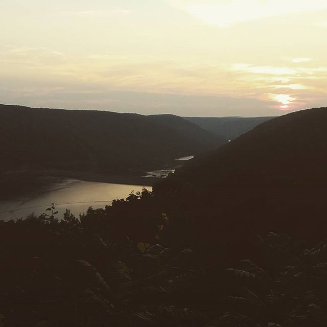 Photo: Kinzua Dam at Sunset
