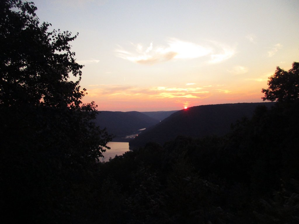 Photo: Kiznua Dam Sunset