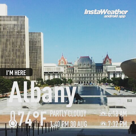 Photo: Nice day in Albany