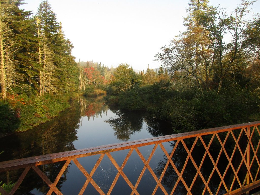 Photo: Foggy Morning On Powley Bridge
