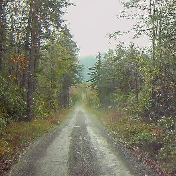 Photo: Rainy when I got to West Virginia