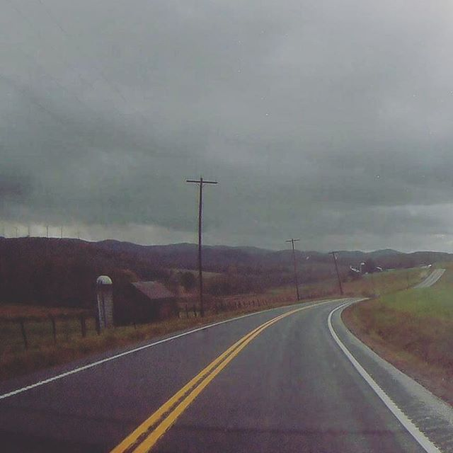 Photo: Heading into West Virginia on US 219