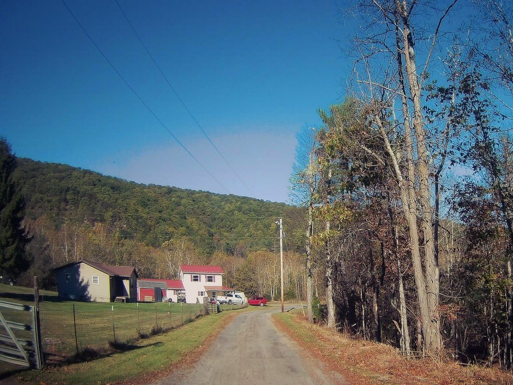 Photo: Hamlet Of Miles On Camp Run Road