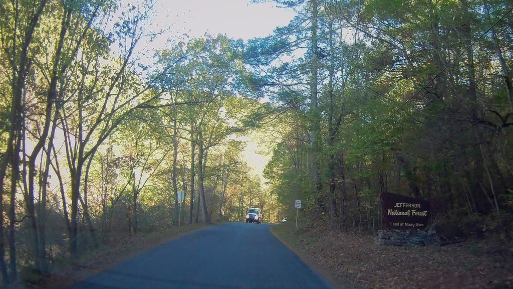 Photo: Jefferson National Forest Enterance