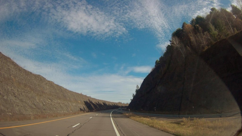 Photo: Rock Cut On I 88