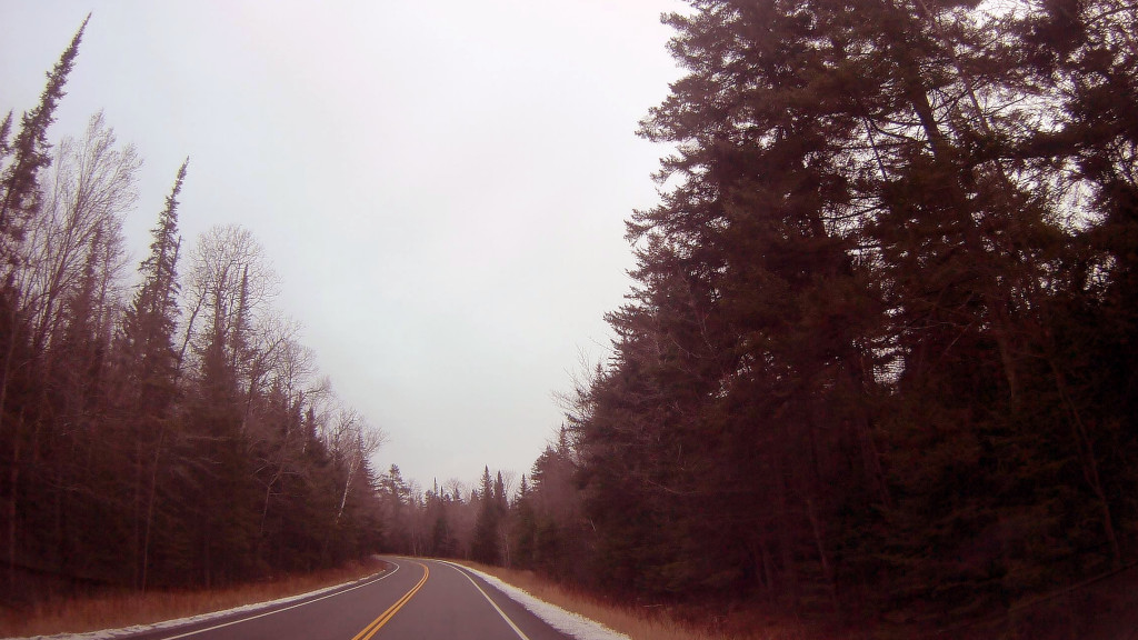Photo: Route 8 In Wilcox Lake Wild Forest