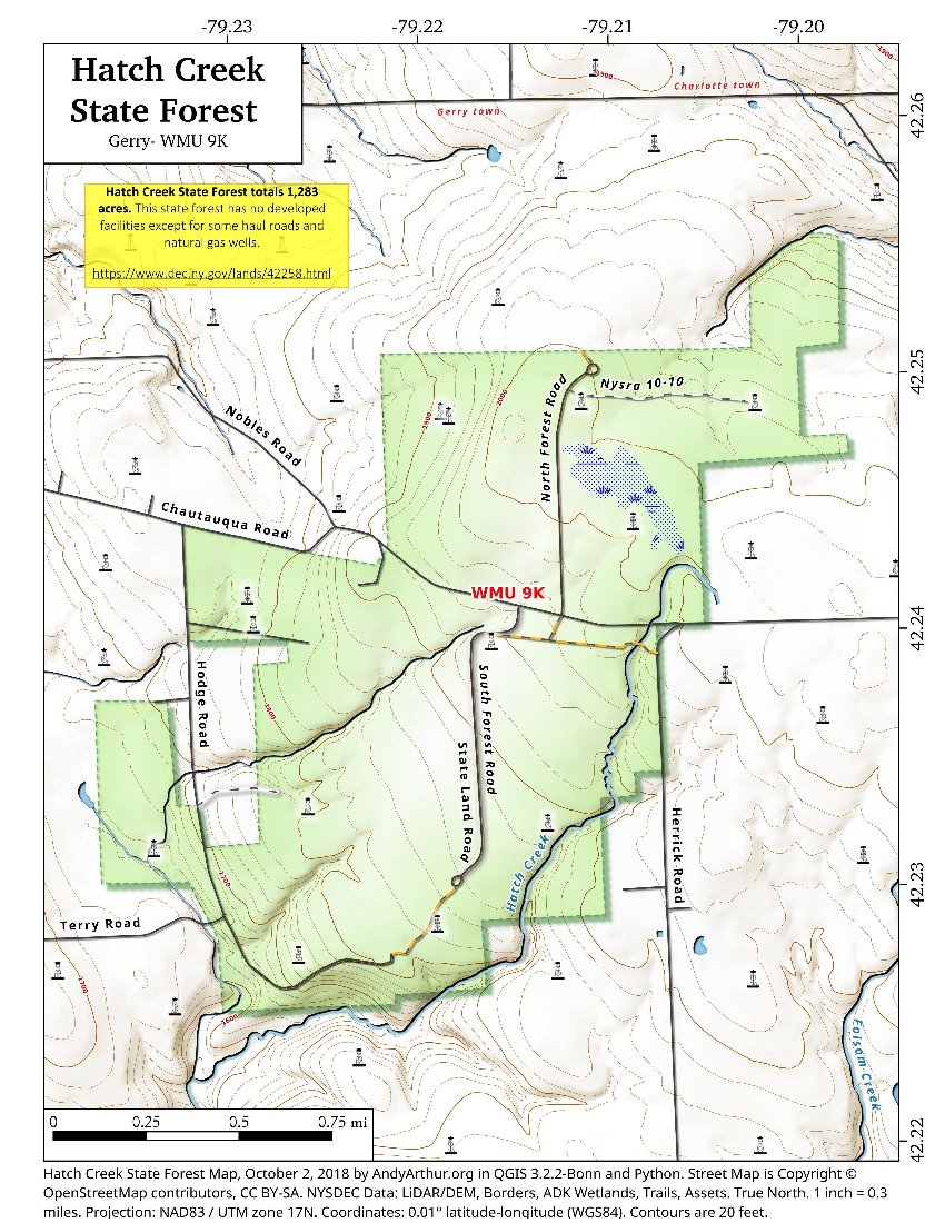 Hatch Creek State Forest – Andy Arthur.org