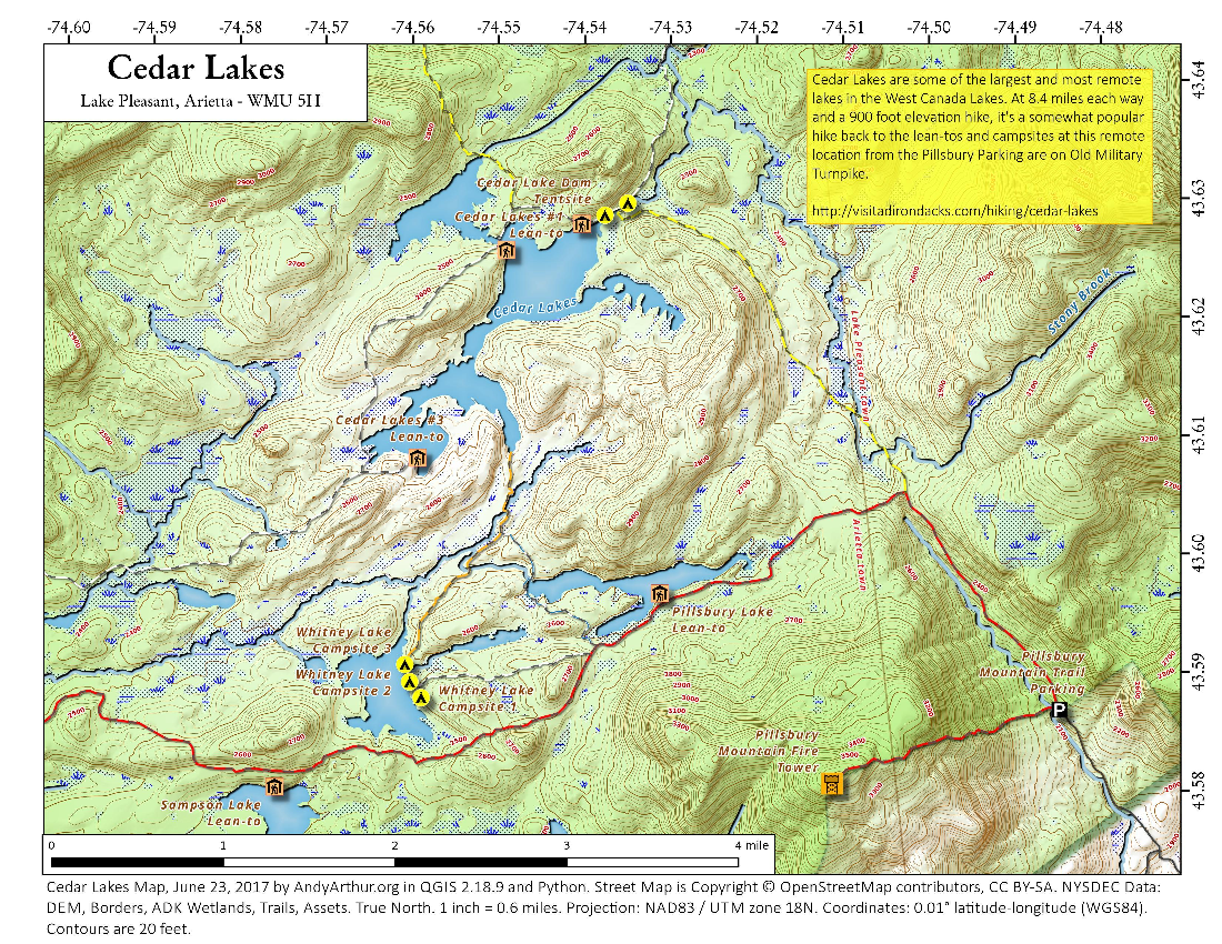 West Canada Lake Wilderness – Andy Arthur.org on