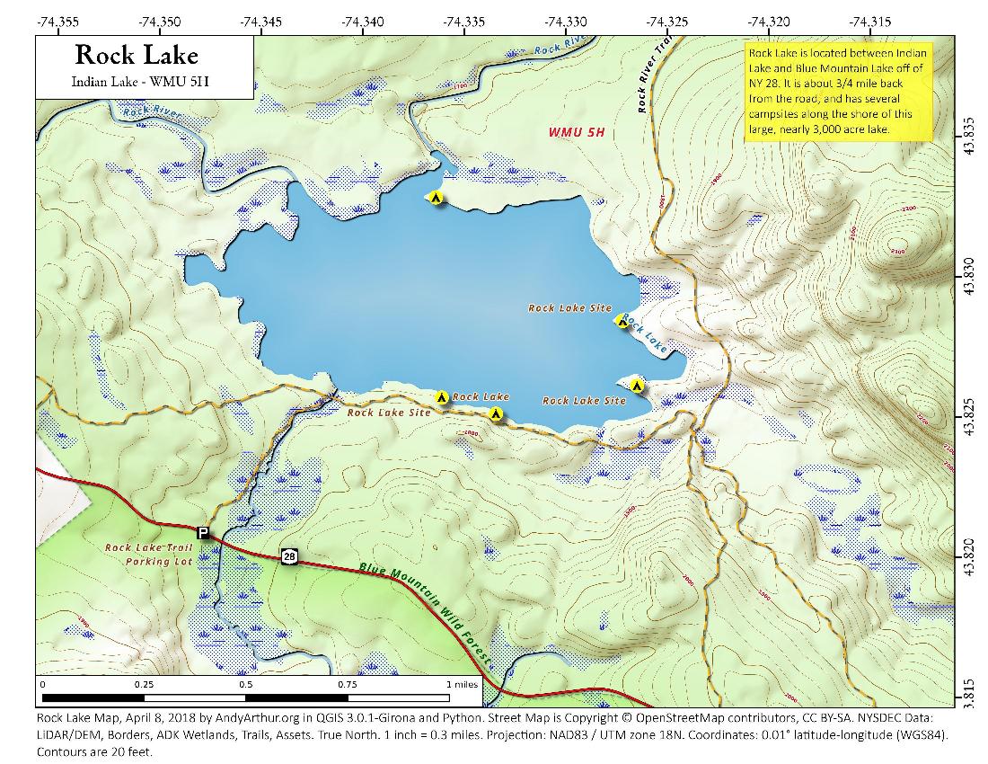 blue mountain lake ny map Blue Mountain Lake Wild Forest Maps Photos Videos Aerial blue mountain lake ny map