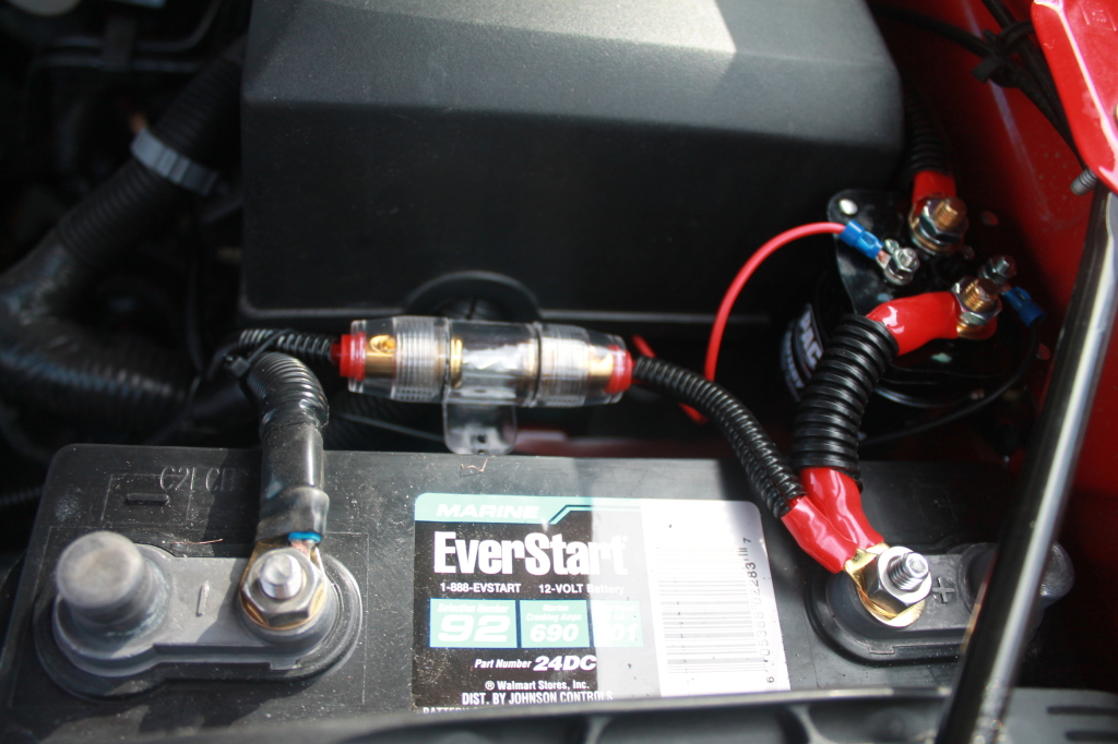 dual battery setup on my silverado for camp power  u2013 andy