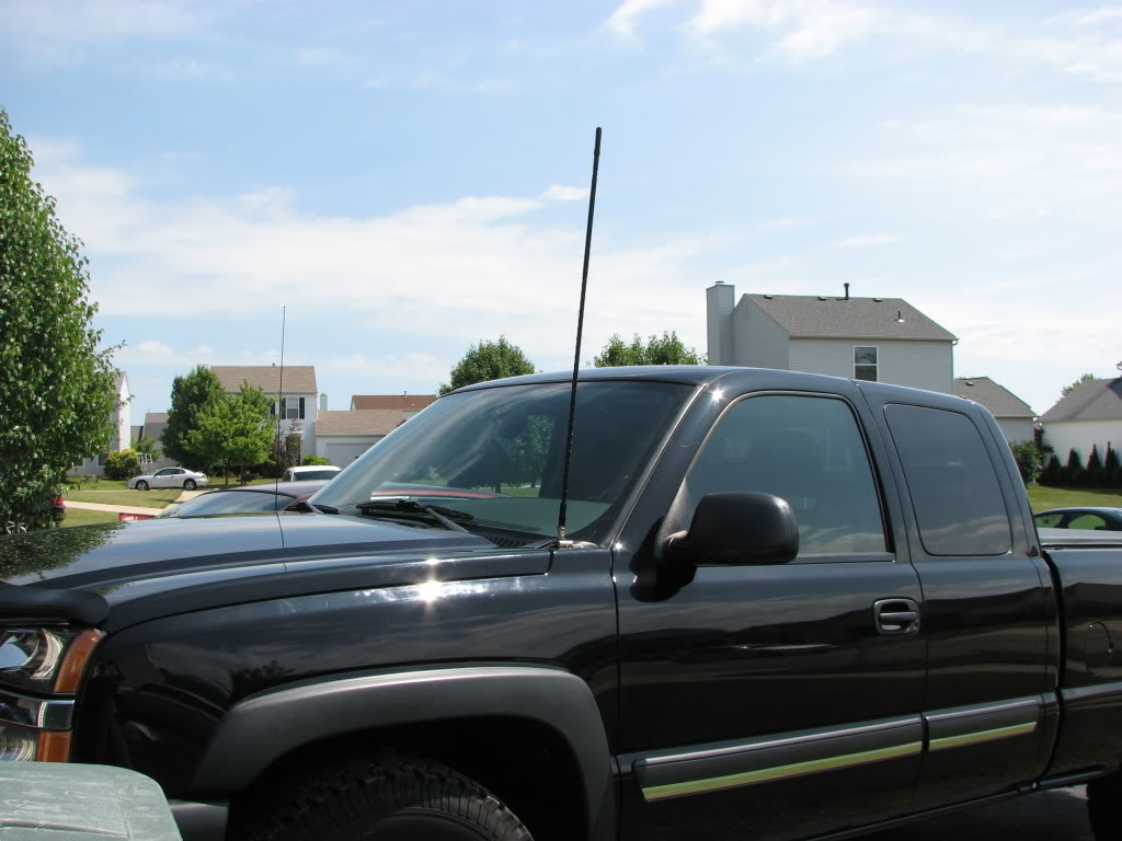 Cb Radios Antennas For Pickup Trucks likewise Rf noise powerstroke diesel furthermore 133762 Cb Antenna Mount Drill No Holes Update Pic in addition Been Looking At Cb Radios additionally 18542243 Cb Radios For Jeeps. on trucks cb radio antenna
