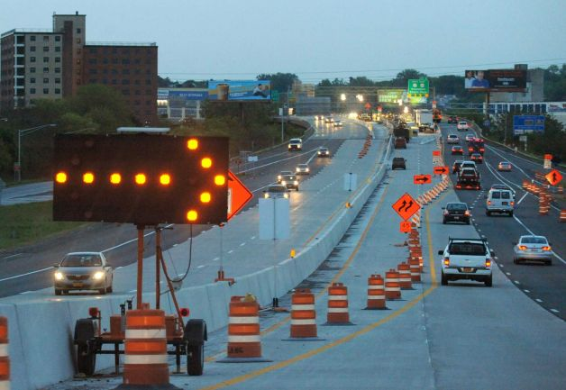 Patroon Island Bridge, 787 paving among 2014 road projects