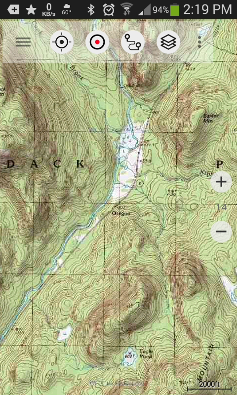 Loading KML Or GPX Files Into US Topo Maps Pro Andy Arthurorg - Us topo maps pro