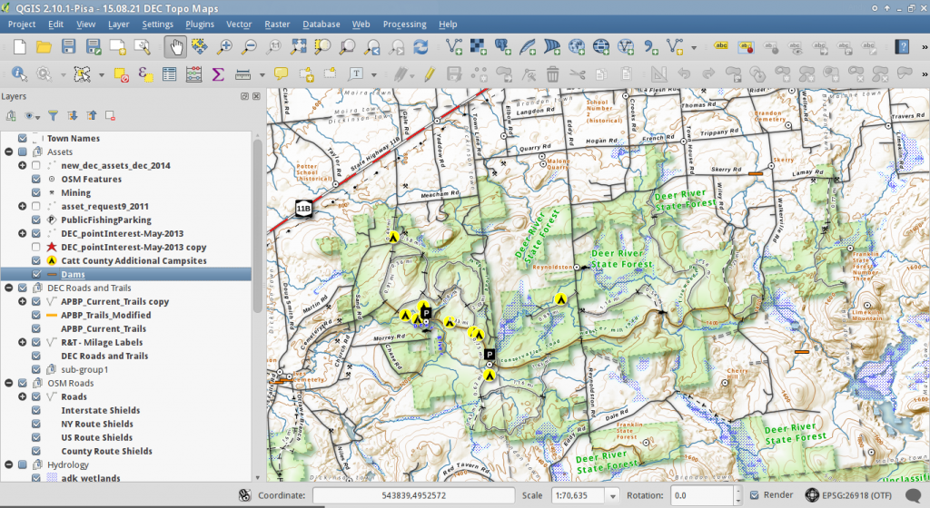 Making Maps in QGIS